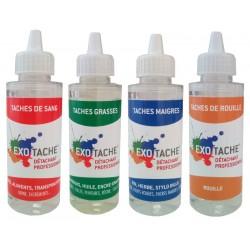 Pack 4 détachants Exo-Tache