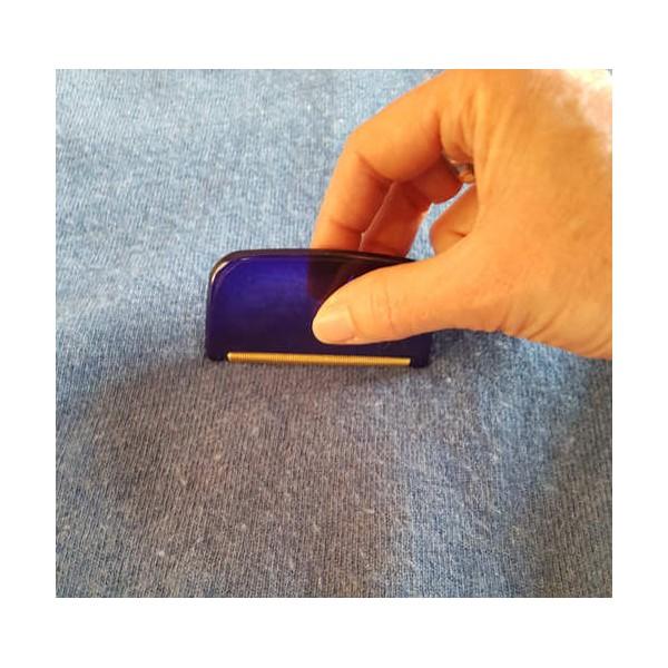 anti bouloche de poche sur pull