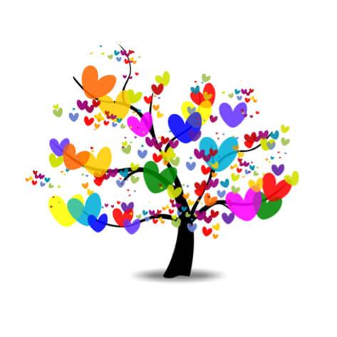 arbre couleurs